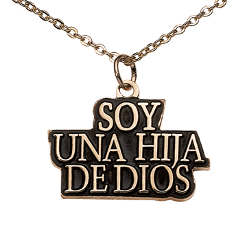 I am a Child of God Spanish Necklace