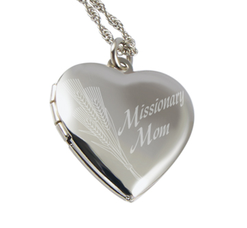 Missionary Mom Locket Necklace