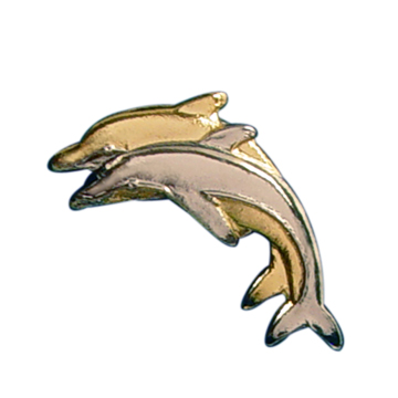 Sincere Thoughts Dolphin Pin