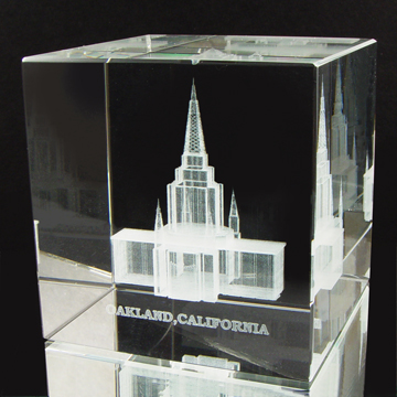 Oakland, California Temple Cube